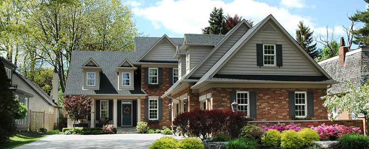 Large Residential Brick Home