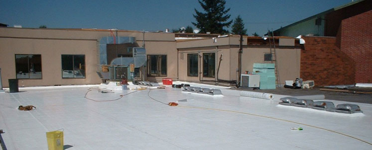 Roof Construction Work
